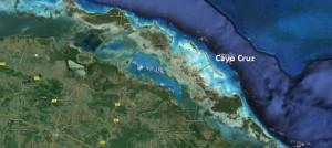 Cayo Cruz Cuba Map